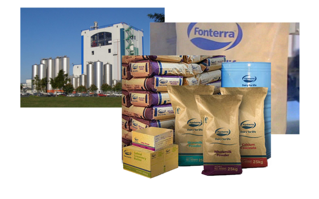 Projects - milk powder packing